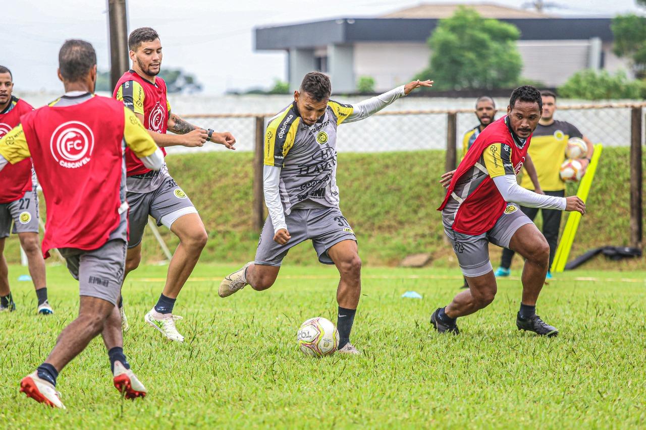 FC Cascavel inicia segunda semana da pré-temporada 2021 ...
